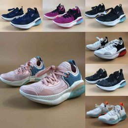 off white shoes Canada - 2021 Nk Joyride Run Knited Kids Shoes style Off Noir Summit White Glacier Ice 28-35 US Size 11c-3y