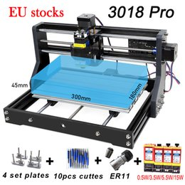 CNC 3018 Pro ER11 DIY Engraving Carving PCB Milling Machine Wood Router Laser GRBL Control EU STOCK