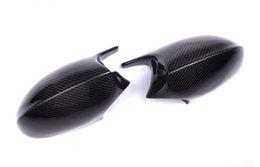 Cubierta de espejo retrovisor de fibra de carbono para BMW E81 E90 E92 E93 en venta