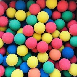 6 cm Raket Topu Squash Düşük Hız Kauçuk Hollow Topları Eğitim Yarışması Kalınlığı Yüksek Esneklik Rastgele Renk