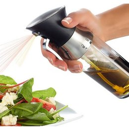 2-in-1 Oil Bottle Sprayer Kitchen Supplies Kitchen Dosage Oil Sprayer Seasoning Mist Bottle Dispenser CYZ3112 on Sale