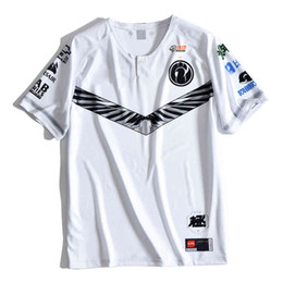 fans tops tees Australia - LOL LPL IG Esport Team Jerseys Customized Name Theshy Rookie Ning T Shirts Top Quality Uniform Fan Men Women Tee Shirt Homme