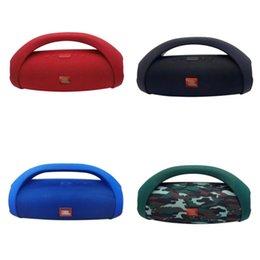 Wholesale  Boombox 2 Portable Wireless Bluetooth Speaker IPX7 Boom Box Waterproof Loudspeaker Dynamics Music Subwoofer Outdoor Stereo
