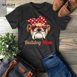 Wholesale english bulldogs resale online - K8 T shirts English Bulldog Mom Funny Mother s Day Poison Idea Mama for Youth Middle Ages Old Tea Shirt