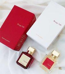 venda por atacado Todos os jogos com caixa Baccarat Rouge 540 Extrait de Parfum Neutro Oriental Fragrância Floral 70ml EDP Top Quality Alto Desempenho