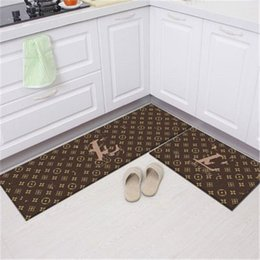 Wholesale good quality Carpet 3D printed foot mat parlor living room rug no-slip calssic pattern Top kitchen rugs