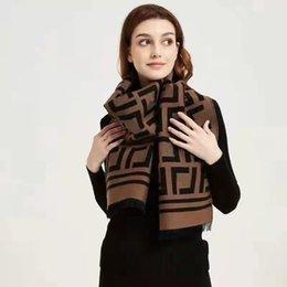 韓国のF文字模造カシミヤ両面ウォームショールファッションの多用途の厚いカップルの新しい秋と冬のスカーフ