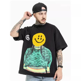 Wholesale justin bieber for sale - Group buy New Summer Mens And Womens Fashion Street Fun Spoof Face T Shirt Justin Bieber Same Short Sleeve T Shirt Black White