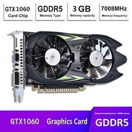 GTX1060 Carte graphique 3G DDR5 Card Graphics de bureau Computer Independent-définition Haute-définition Grossiste en Solde