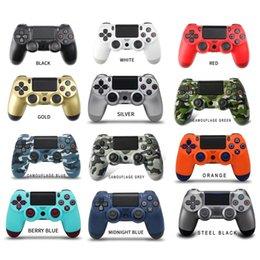 Op voorraad PS4 Draadloze controller Hoge kwaliteit Gamepad 22Color voor PS4 Joystick Game Controller gratis