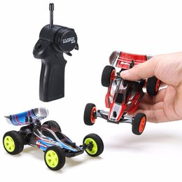 Discount battery operated toys Velocis 1 32 2.4G RC Racing Car Mutiplayer in Parallel 4 Channel Operate Remote Control USB Charging Edition RC Formula Car 210322