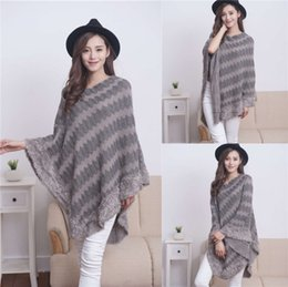 silk bats Canada - scarves 2021 Cape spring and autumn color matching tassel bat sleeve thin knitted scarf for women