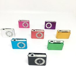 Colorful Mini clip MP3 Player without Screen - Support Micro TF SD Card Portable Sport Style Music Players on Sale
