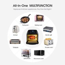 Yeyo Electric Air ROTISSERIE Печь Напение 10-в-1 Фритюрница 12 литров 1500 Вт для домашнего использования, включает в себя 10 пресетов для кухни Кухонные аксессуары на Распродаже