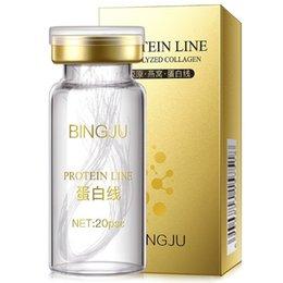 Commercio all'ingrosso 10 pezzi Hydrolyzed Collagen Fluido originale Pure Collagen Faccia Essenza Rassodante Essenza per la cura della pelle in Offerta
