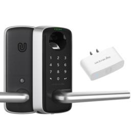 Lavadora de ultraloq Bluetooth habilitó la huella digital y la pantalla táctil de la pantalla táctil + adaptador de puente wifi en venta
