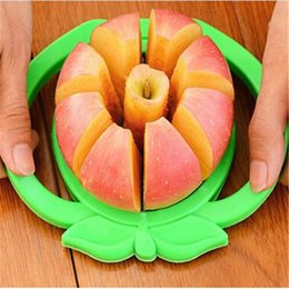 Кухонная помощь из нержавеющей яблони из нержавеющей яблочный резак для резки груша для делителя фруктов инструмент комфортный ручка кухонные аксессуары кухонные инструменты резак на Распродаже