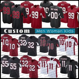 jj watts venda por atacado-30 James Conner JJ J J Watt jerseys de futebol personalizado Deandre Hopkins Kyler Murray Larry Fitzgerald Jones Arizona