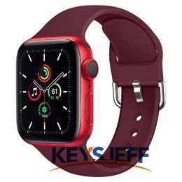 Correa de repuesto para la banda de reloj de Apple 42mm 38mm 44mm 40 mm Iwatch Bands Brazalets Pulsera para Apple Watch Pulsera 81007 en venta