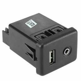 13599456 For GM Chevrolet Center Console RECEPTACLE Jack Dual USB charger USB Aux Port Connector