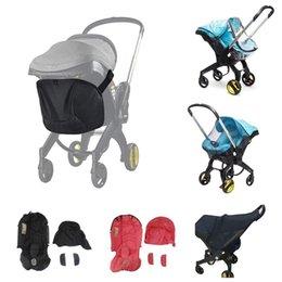 Baby passeggino Accessori per Doona Seggiolino auto Copertura pioggia Cambiamento Lavaggio Kit Sunshade Sacchetto di immagazzinaggio zanzare Zanzara Mum mamma Borsa da viaggio Poggiapiedi in Offerta