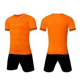 Hommes Adulte Jersey Soccer Jersey Short Soccer Shirts Football Uniformes Chemise + Short Personnalisé Nom de l'équipe couture personnalisée Numéro de nom --S070104-3 en Solde
