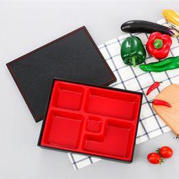 Newbento almoço caixa de escritório recipiente portátil arroz sushi catering estudante plástico caixa para recipiente de alimentos bento caixa EWA5494 em Promoção