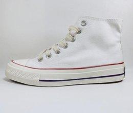 Venta al por mayor de 2.0 Moda para mujer Moda 70 Primavera y verano zapatos de lona de alta calidad Zapato deportivo de alta calidad Tamaño de punta baja de punta EUR35-45