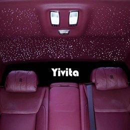Toptan satış Lazer Mini Projektör Lambaları USB LED Araba Çatı Atmosfer Tavan Yıldız Dekorasyon Işık RGB Flash Yıldızlı Gökyüzü