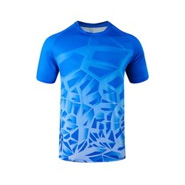 Wholesale polyester leisure suits for sale - Group buy Polyester Ammonia Pinhole Cloth round Neck Sports Leisure T shirt Personality Short Sleeved Shirt Parent Child Suit Jogging Clothing