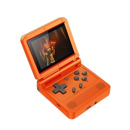 Wholesale games flip for sale - Group buy Powkiddy V90 Retro Game Console Flip Linux System Handheld with16G Built in Games For PS1 N1