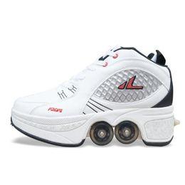 Patines de pareja unisex transformable de alta calidad para parejas patines de carreras de cuatro ruedas en venta