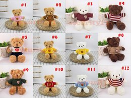 anime bear 2021 - 30cm-50cm Plush Toy 30 colors Large Teddy Bear Doll Ragdoll Gift Items Children Toys Couple confession gifts Party supplies company partys activities