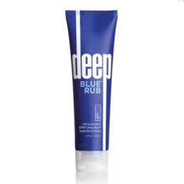 Wholesale deep BLUE RUB topical cream with essential oils 120ml
