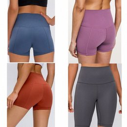 women  shorts womens align leggings yoga workout gym wear 32 68 solid color sports elastic fitness lady overall tights short