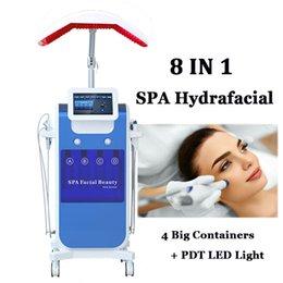 Hydra Skin Soins Machine faciale à oxygène HyperbaRic Thérapie hypertoire Machines anti-vieillissement des ultrasons hydrafaciens en Solde