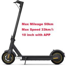 Venta al por mayor de [Sin impuesto a la UE] Scooter inteligente plegable Skateboard 45-50km Gama fuerte 36V 12.5AH HT-T4 MAX MÁXIMO 10 PULLO HT-T4 Scooter eléctrico de 8.5 pulgadas