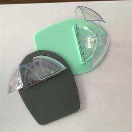 venda por atacado Suporte de cozinha Pendurado suporte de vidro de vinho de plástico para o chuveiro de banho Estrelete forte de armazenamento 719 R2
