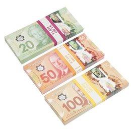 venda por atacado Venda por atacado prop com dinheiro canadense dólar cad banknotes papel jogar dinheiro adereços