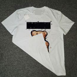 ユニックス女性動物プリントTシャツの男性カジュアルティー夏のinsスタイルファッショントップ男半袖トレンディーヒップホップストリート服Streetwear2021