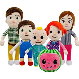 family puppets UK - Plush toys doll Soft pet toy cartoon family sisters and brothers father mother children children's Christmas gift