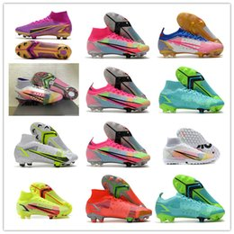 2021 Fashion Superfly 8 VIII 360 Elite FG Soccer Shoes XIV Dragonfly CR7 Ronaldo IMPULSE PACK MDS 04 14 Dream Speed 4 Mens Women High Football Boots Cleats on Sale