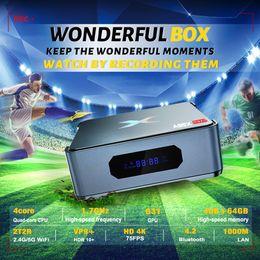 Wholesale A95X MAX II TV Box S905X3 DDR3 4GB 64GB 5G Wifi 1000M blueooth Android9.0 USB3.0 4K 8K VP9 Video Decoder Mini PC SATA