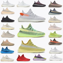 2021 With box sneakers 36-48 Carbon Israfil Running Shoes Ash Pearl Blue Stone Sand Taupe Black Static Reflective Cream Bred trainers sports F3BN# on Sale