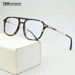Discount geometric eyeglasses men Fashion men's eyeglasses frames Retro eye glasses frame for men Myopia Prescription Optical glasses transparent Spectacles 210323