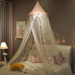 girls princess tents Australia - Baby Mosquito Net for Crib Girls Princess Mosquito Net Hung Dome Bedding Baby Bed Canopy Tent Curtain Room Decor Dropshipping