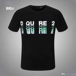 MEN casual Mens Designer hip-hop Polo shirt T shirts Letter Print short sleeve white collar summer Polos Tops Tee M-xxxl black 39