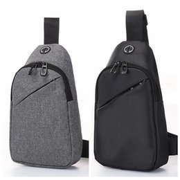 Wholesale Men Luminous Chest Bag Top Quality Outdoor Casual Sling Crossbody Bag Waterproof Canvas Shoulder Bag Women Travel Backpack