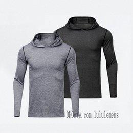 leggings mens t shirts hoodies yoga hoodie Sports lu Gym Wear Align Elastic Fitness lulu Tights Workout men z2Fr#