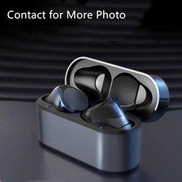Wirless Oortelefoon Oortelefoon Chip Transparantie Metalen Hernoemen GPS Wireless Opladen Bluetooth Hoofdtelefoon Generatie In-Ear Detection voor mobiele telefoon